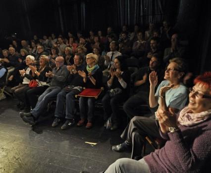 Publikum na festivale Divadlo Jedného Herce v Chebe, október 2013