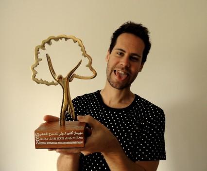 Cena za najlepší herecký výkon, FITUA festival, Agadir, Maroko, apríl 2015