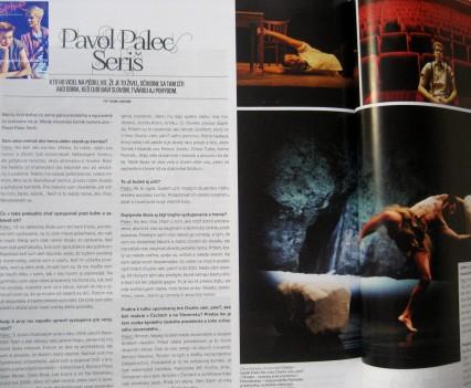 Rozhovor v časopise Inspire, leto 2013