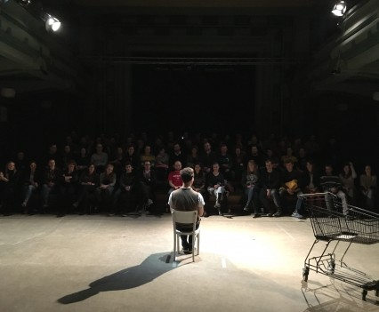 Repríza hry Pri kase, Venuše ve Švehlovce, Praha, január 2016